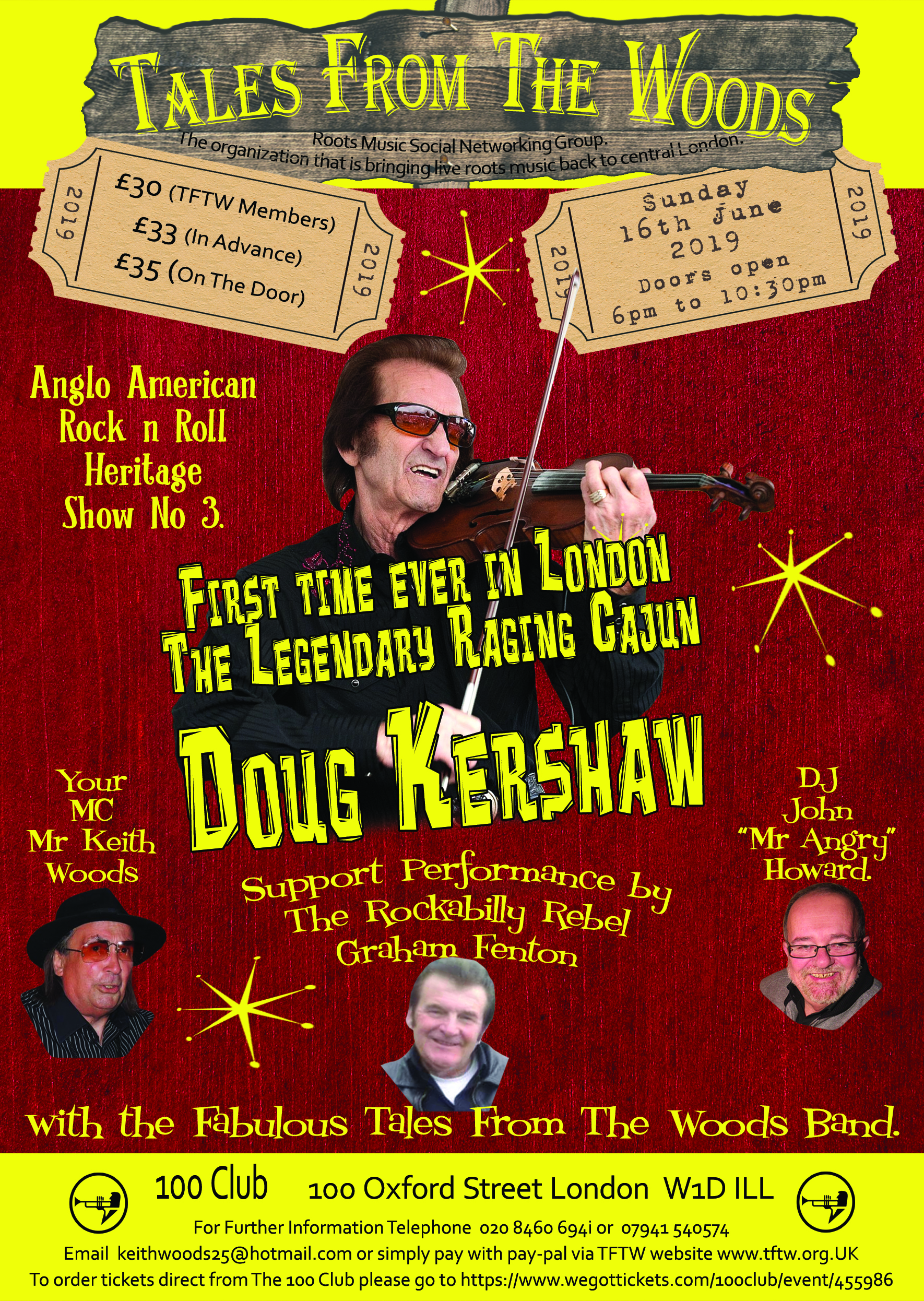 Flyer: Doug Kershaw