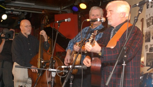 Picture: Alan Bailey and Skiffle Leg-ends