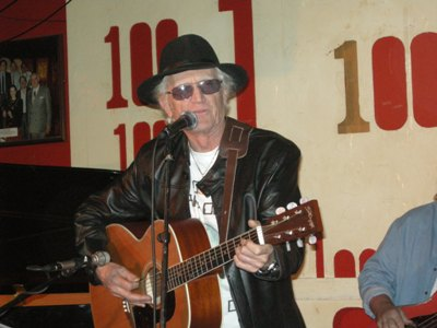 Picture: Terry Dene at the 100 Club
