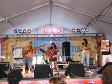 Picture: Rosie Ledet and the Zydeco Playboys